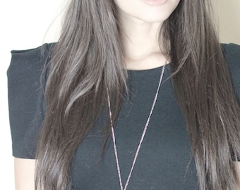The Judith Large Cross Necklace in Silver or Gold