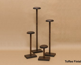 Hat Display Stand / Wooden Hat Stand / Collapsible Hat Display / HT002