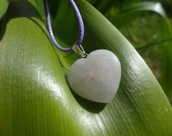 Rose quartz Heart Necklace 50% coupon