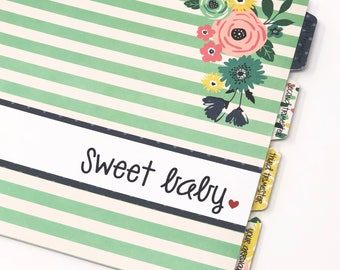 Pregnancy Journal * Gender Neutral Pregnancy Journal * Pregnancy Gift * Pregnancy Book * Pregnancy Planner * Pregnancy Present * BLOOM