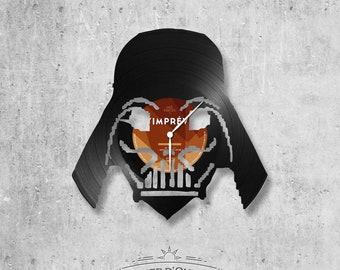 Vinyl 33 clock towers Darth Vader theme