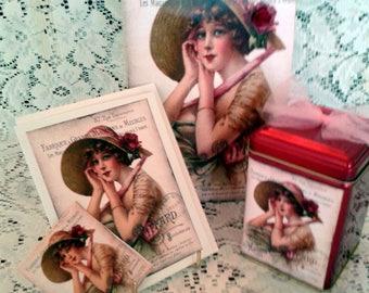 French Lady Keepsake Gift Set