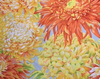 Japanese Chrysanthemum in  yellow from the Kaffe Collective