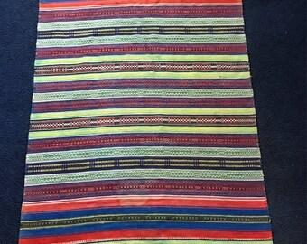SALE SALE SALE Vintage woven colorful rug/accent pattern rug/BoHo/bohemian/patterned