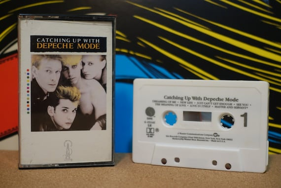 Catching Up With Depeche Mode by Depeche Mode Vintage Cassette Tape