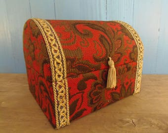"""French Vintage """"Treasure Chest"""" Chocolate or Patisserie Box"""