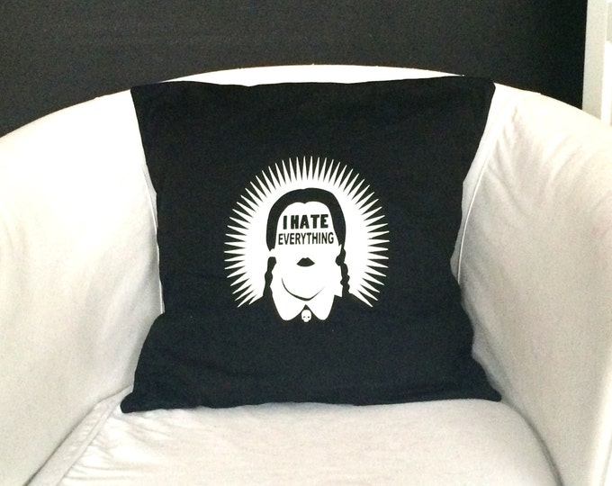 Wednesday Addams pillow cover