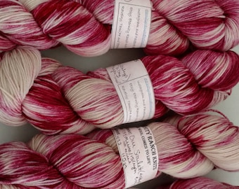 Gone With the Wind, August, Our Scarlet, 433yds sock yarn