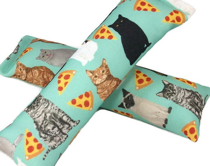 Featured listing image: Eco-Kicker Catnip Cat Toy - Pizza Cats