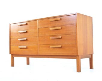 Mid Century Dresser/Drawer Set By Nils Jonsson For Troeds