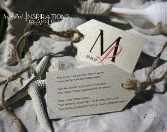 Wedding favor tags, Mini Favor Tags, small tags, tags, luggage tags, wedding favors, favors, wedding