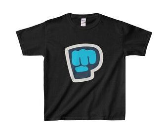 Kids Pewdiepie Logo TShirt Pewdiepie Youtube Merch Kids