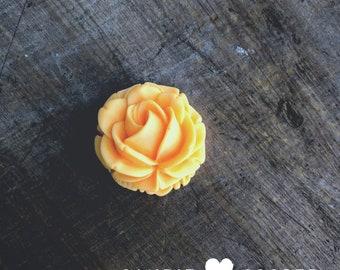 Orange Sorbet Acrylic Flower - DIY Jewelry