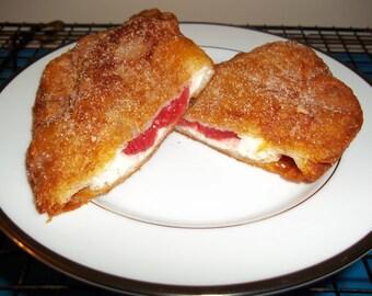 Strawberry Cream Fried Pie