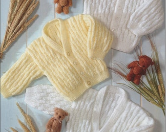 cardigans 4 ply knitting pattern 99p