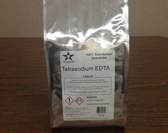 Tetrasodium EDTA 1 Lb. Pack FREE SHIPPING!! 9729