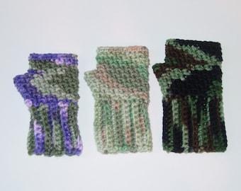 Crochet Pattern Children Toddlers Fingerless Gloves Instant Download PDF Crochet PATTERN