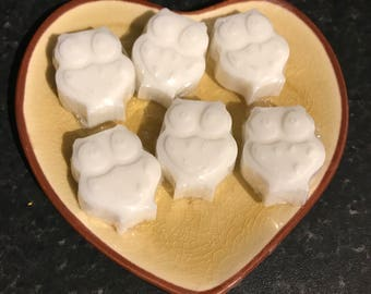 Handmade Goat's Milk Guest Soaps with  Coconut fragrance