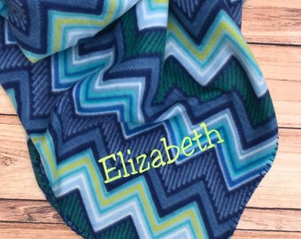Embroidered Throw, Embroidered Blanket, Personalized Blanket, Boys, Girls, Gift, Holiday
