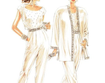 New Look Separates Pattern 6643 -  Misses' Embelished Jacket, Top and Pants - Sz 8/10/12/14/16/18