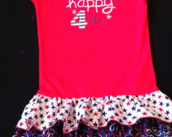 4th of July Upcycle Dress