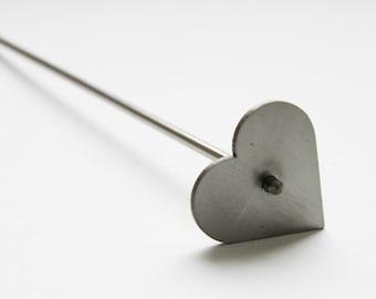 "Mandrel by Cabochon ""Heart"" (27х25mm or 30х27mm)"