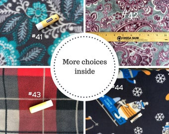 Fleece Fabric Choices #2 - Car Seat Poncho - Choices for Custom Ponchos
