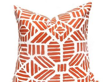 15% Off Sale Orange pillow Orange Pillow Cover Throw Pillow Cover Orange Accent Pillow Decorative Pillow Decorative toss pillow Cushion Cove
