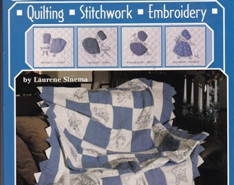 Quilting, Stitchwork, Embroidery Book. 5069.
