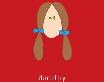 Dorothy of Oz:  5x7 digital file