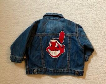 Cleveland Indians Kids Jean Jacket