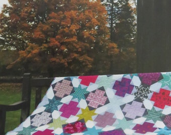 Star Crossed Quilt Pattern - Color Girl Quilts - Sharon McConnell - CG1404