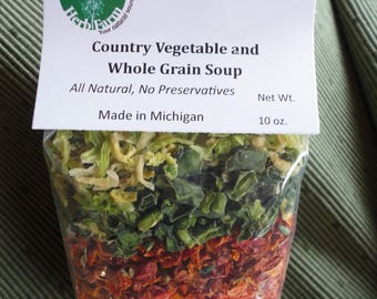 Country Vegetable & Whole Grain Soup Mix