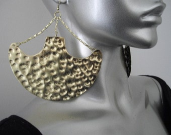 Gold Afrocentric Earrings