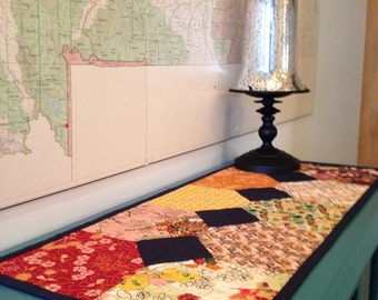 Quilted Table Runner Reversable
