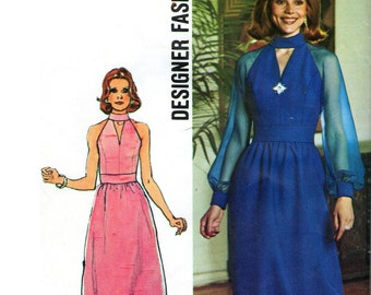 Simplicity 6033 sewing pattern // Misses' Dress in Two Lengths - from the Designer Fashion line