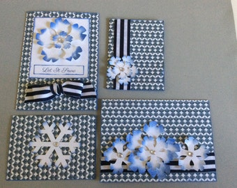 Christmas Cards with Gift Tags