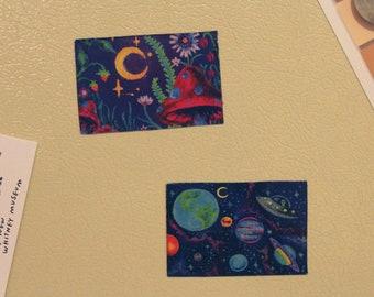 2x3 Dreamy Garden Magnet