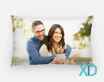 Custom Pillow Cover, Custom Lumbar Pillow, Custom Pillow Case, Personalized Pillow, Photo Pillow, Custom Decor, Decorative Pillow, Monogram