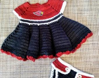 Cardinals Baby Dress
