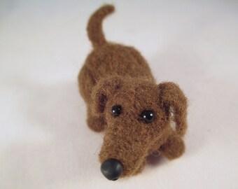 Needle Felted Dog, Needle Felted Animal, Felted Wool Dog, Dog Art, Felted Animals, Dog Art, Dog Collectible, Needle Felt, Felt Animals,