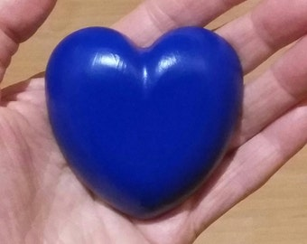 Orgone Heart Blue Big (Towerbuster) - Orgon Herz blau groß