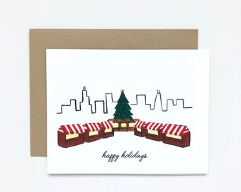 Chicago Christkindlemarket - Holiday Card, Christmas Card