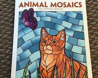Creative Haven Animal Mosaics Coloring Book