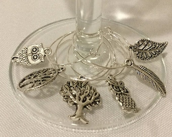 Wine Charms - Nature at its Finest