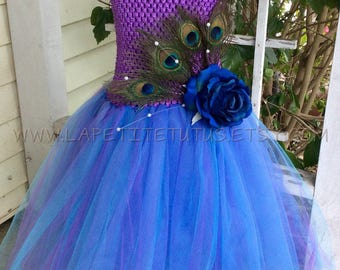 feather tutu, flower girl dress tutu, flower girl, feather tutu dress, tutu, peacock flower girl dress, peacock costume, peacock dress, tutu