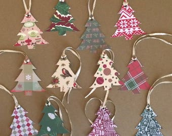 "12 - 2 1/2"" Christmas Tree Tags T1"