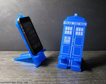 Arzt, TARDIS iPhone stehen Ladestation - iPhone Dock - Iphone 4 und 5 oder iPhone 6 und 6 Plus 2 Größen passen die meisten Handys