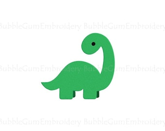 Dinosaur Embroidery Design Instant Download