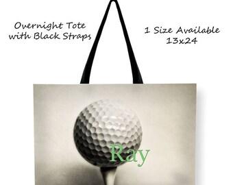 Customized Golf Tote Bag-Overnight Tote Bag-Golf Cross Body Tote Bag-Tote Bag Rope Straps-Golf Weekend Bag-Large Tote Bag-Messenger Bag